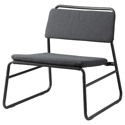 LINNEBÄCK ลินเนแบค เก้าอี้พักผ่อน, วิสเล่ เทาเข้ม
