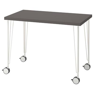 LINNMON ลินมูน / KRILLE คริลเล่ โต๊ะทำงาน