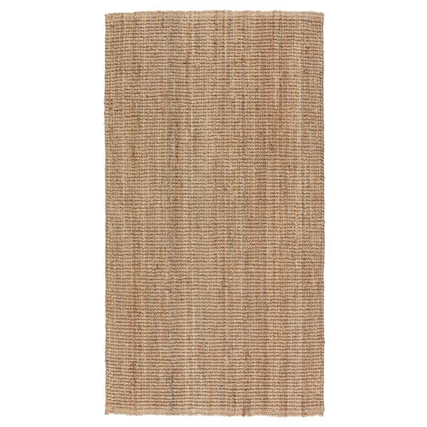 LOHALS ลูฮาลส์ พรมทอเรียบ, สีเนเชอรัล, 80x150 ซม.