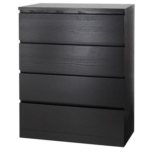 IKEA มาล์ม ตู้ 4 ลิ้นชัก