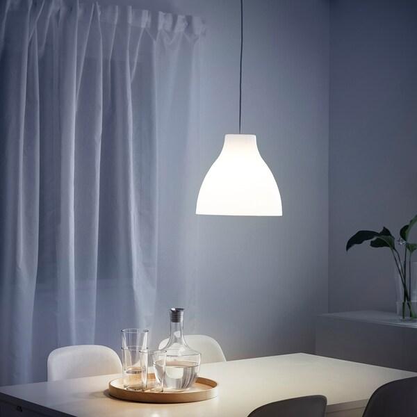 เมลูดี โคมแขวนเพดาน, ขาว, 38 ซม.