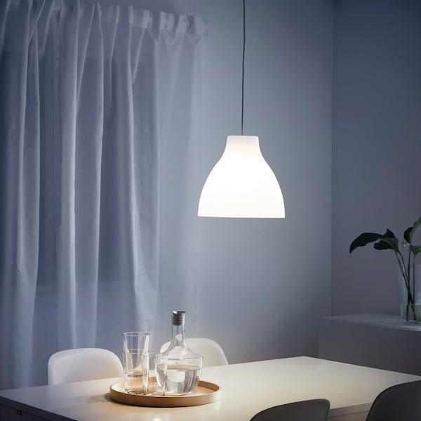 MELODI เมลูดี โคมแขวนเพดาน, ขาว, 28 ซม.