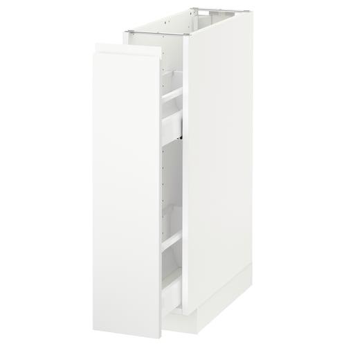 เมท็อด ตู้พื้น/ตะแกรงลิ้นชัก ขาว/วอกซ์ทอร์ป ผิวด้าน สีขาว 20.0 ซม. 62.1 ซม. 88.0 ซม. 60.0 ซม. 80.0 ซม.