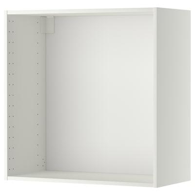 METOD เมท็อด โครงตู้แขวน, ขาว, 80x37x80 ซม.