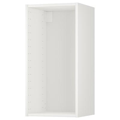 METOD เมท็อด โครงตู้แขวน, ขาว, 40x37x80 ซม.