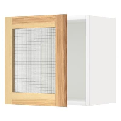 METOD เมท็อด ตู้แขวนบานกระจก
