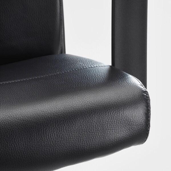 มิลบาเรียต เก้าอี้หมุน บุมสตอด ดำ 110 กก. 65 ซม. 123 ซม. 52 ซม. 45 ซม. 45 ซม. 58 ซม.