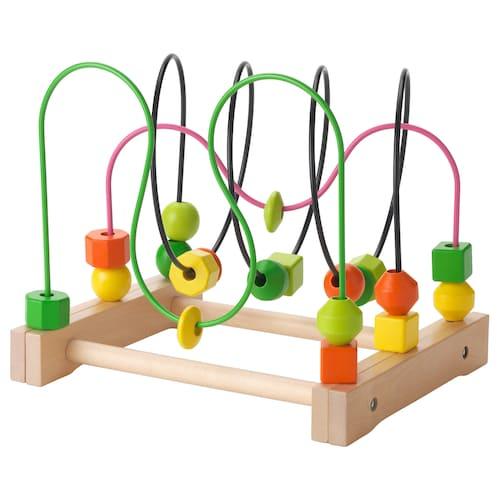 IKEA มูล่า ของเล่นขดลวดไม้