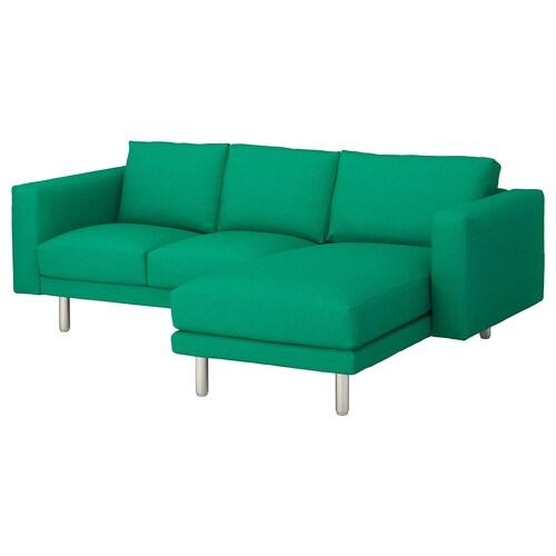 นอร์ชบอร์ย โซฟา3ที่นั่ง +เก้าอี้นวมตัวยาว/เอียดุม 231 ซม. 85 ซม. 88 ซม. 157 ซม. 129 ซม. 18 ซม. 60 ซม. 43 ซม.