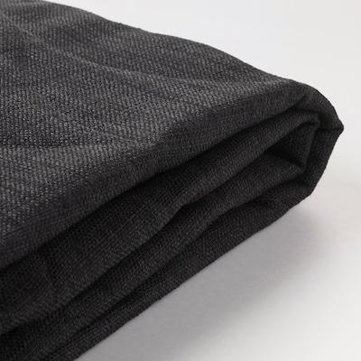 NYHAMN นือฮัมน์ ผ้าหุ้มโซฟาเบด 3 ที่นั่ง, ควิฟเตโบ สีแอนทราไซต์