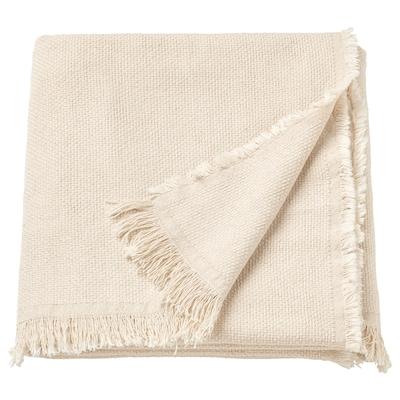 ODDRUN ออด์รัน ผ้าคลุม, สีเนเชอรัล/เบจ, 130x170 ซม.