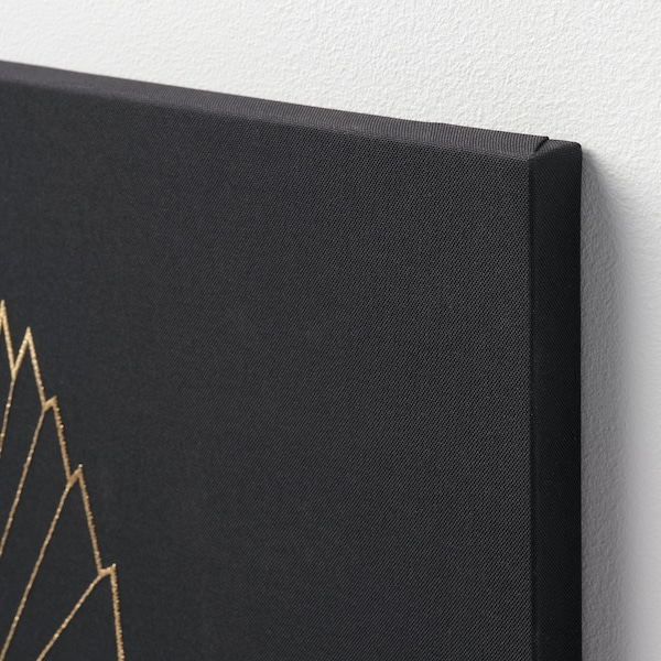PJÄTTERYD พแยทเทอรีด รูปภาพ, Golden bird, 56x56 ซม.