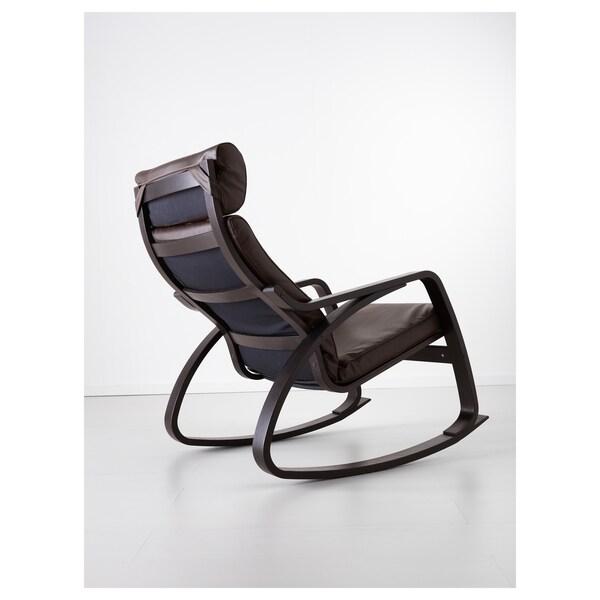 พัวแอง เก้าอี้โยก, น้ำตาลดำ/กลูเซ น้ำตาลเข้ม
