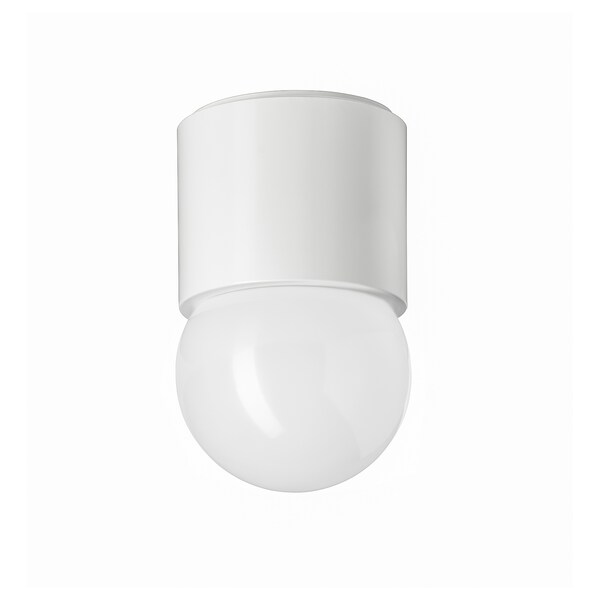 RAKSTA รัคสตา โคมเพดาน/ผนัง LED, ขาว, 15x9.5 ซม.