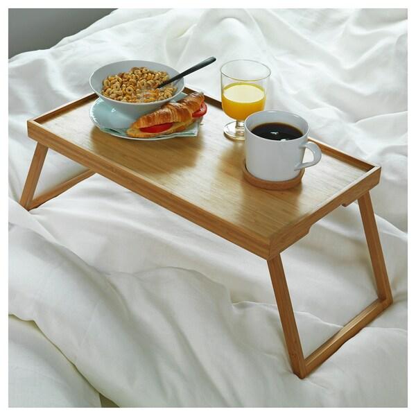 RESGODS เรียสกูดส์ ถาดวางอาหารบนเตียง, ไม้ไผ่