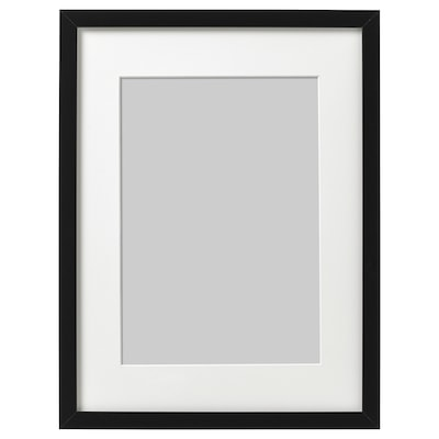 RIBBA ริบบ้า กรอบรูป, ดำ, 30x40 ซม.