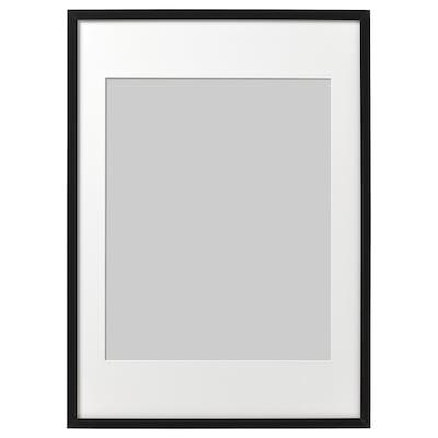 RIBBA ริบบ้า กรอบรูป, ดำ, 50x70 ซม.