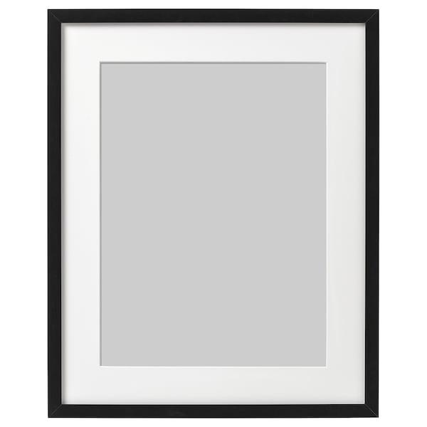RIBBA ริบบ้า กรอบรูป, ดำ, 40x50 ซม.