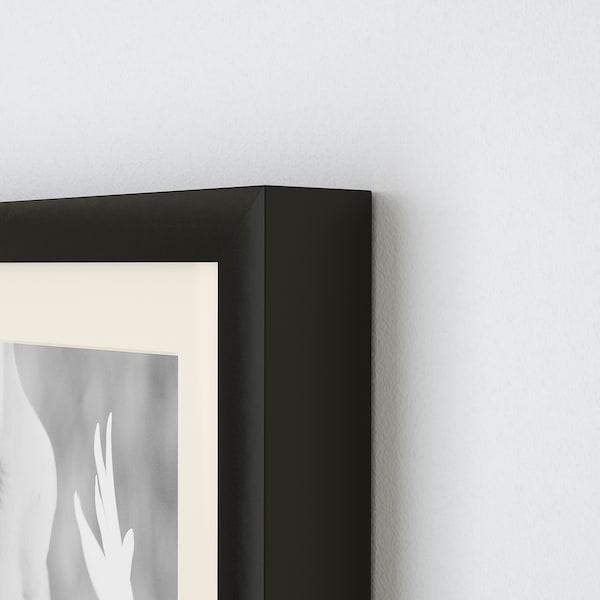 RIBBA ริบบ้า กรอบรูป, ดำ, 50x23 ซม.