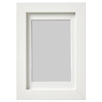 RIBBA ริบบ้า กรอบรูป, ขาว, 10x15 ซม.