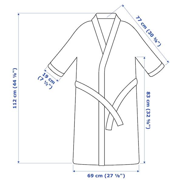 ROCKÅN ร็อคคอน เสื้อคลุมอาบน้ำ, ขาว, ขนาด L/XL