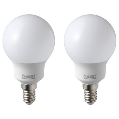 RYET รีเอ็ท หลอดไฟ LED E14 600 ลูเมน, หลอดกลม แก้วฝ้า, 5000K