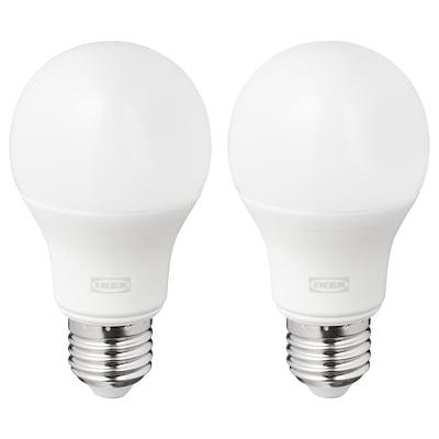 RYET รีเอ็ท หลอดไฟ LED E27 1055 ลูเมน, หลอดกลม แก้วฝ้า