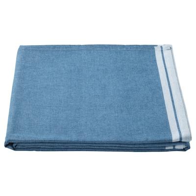 SEVÄRD เซียแวร์ด ผ้าปูโต๊ะ, น้ำเงินเข้ม, 145x240 ซม.