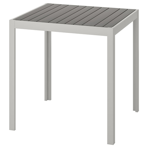 แควลันด์ โต๊ะ กลางแจ้ง เทาเข้ม/เทาอ่อน 71 ซม. 71 ซม. 73 ซม.