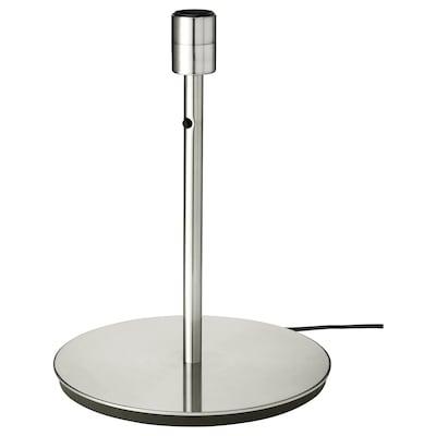 SKAFTET สกาฟเต็ต ฐานโคมตั้งโต๊ะ, ชุบนิกเกิล, 38 ซม.