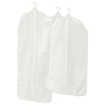 SKUBB สกุบบ์ ถุงใส่สูท/เสื้อผ้า ชุด 3 ชิ้น, ขาว