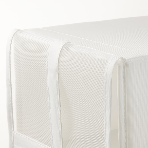 SKUBB สกุบบ์ กล่องรองเท้า, ขาว, 22x34x16 ซม.