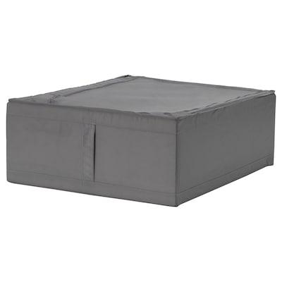 SKUBB สกุบบ์ กล่องใส่เสื้อผ้า, เทาเข้ม, 44x55x19 ซม.
