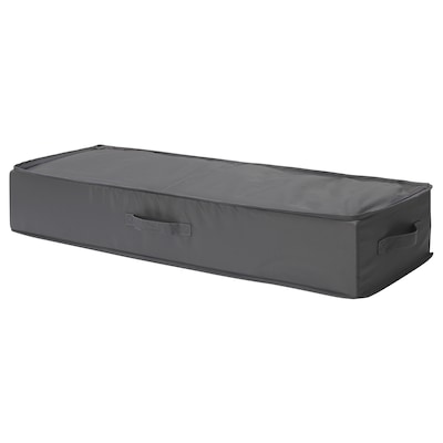 SKUBB สกุบบ์ กล่องเก็บกระดาษห่อของขวัญ, เทาเข้ม, 90x30x15 ซม.