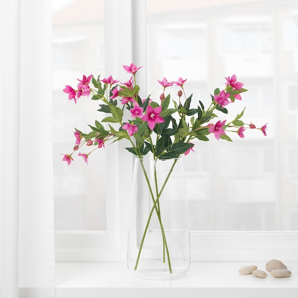 สมึคก้า ดอกไม้ประดิษฐ์ /ชมพู 60 ซม.