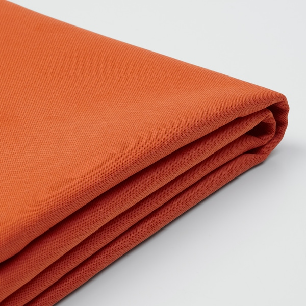 SÖDERHAMN เซอเดอร์ฮัมน์ ผ้าหุ้มเก้าอี้นวมยาว, ซัมสตา สีส้ม