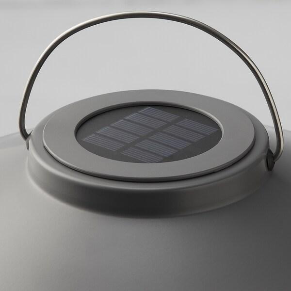 SOLVINDEN ซูลวินเดน ตะเกียง LED พลังงานแสงอาทิตย์, เทาเข้ม