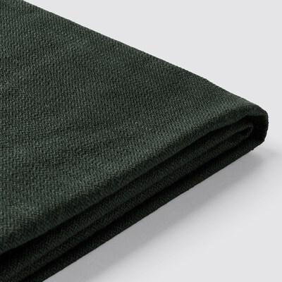 STOCKSUND สต็อกซุนด์ ผ้าหุ้มโซฟา 2 ที่นั่ง, นูลฮากา เขียวเข้ม
