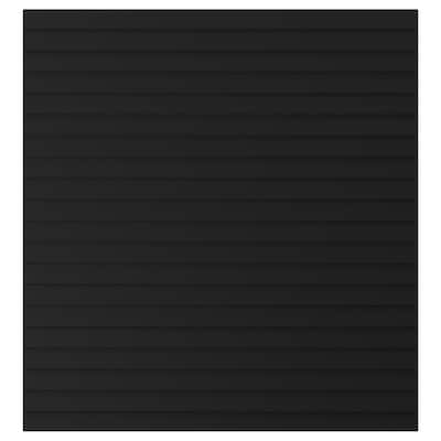 STOCKVIKEN สต็อกวีคเกน บานตู้, สีแอนทราไซต์, 60x64 ซม.