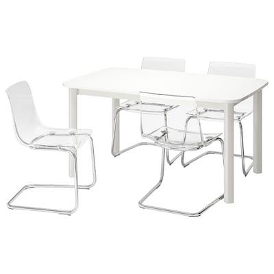 STRANDTORP สตรันด์ทอร์ป / TOBIAS ทูเบียส โต๊ะและเก้าอี้ 4 ตัว