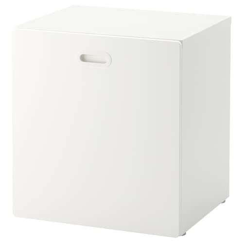 IKEA สตูฟว่า / ฟริทิดส์ กล่องเก็บของเล่น มีล้อเลื่อน