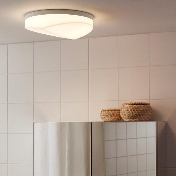 SVALLIS สวาลลิส โคมไฟเพดาน LED, ขาว, 27 ซม.