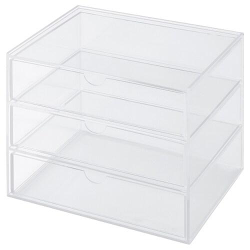 IKEA สวัซป์ กล่อง 3 ลิ้นชัก