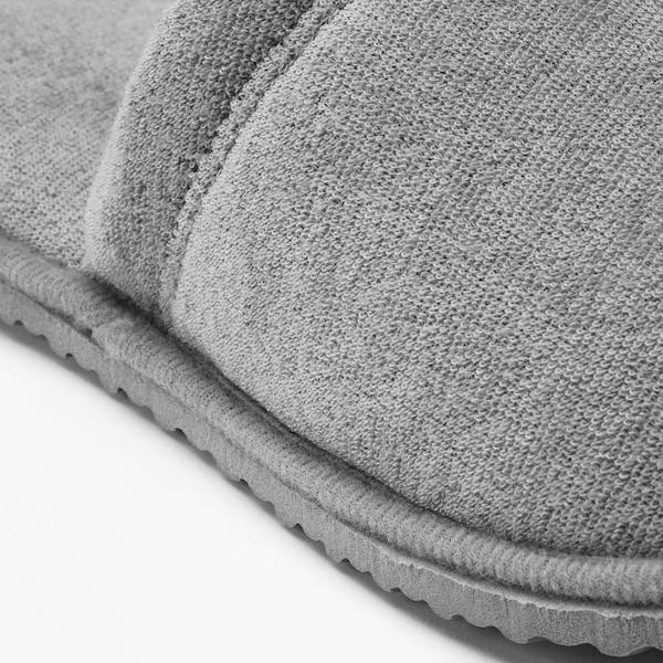TÅSJÖN ทัวเควิน รองเท้าเดินในบ้าน, เทา, ขนาด S/M