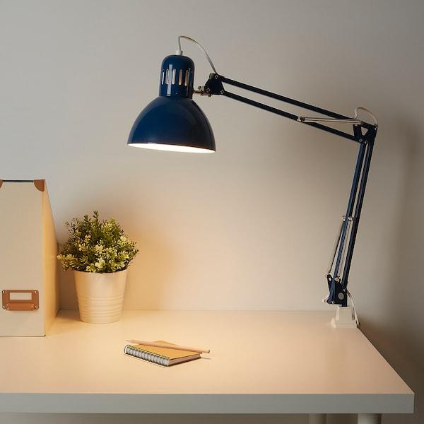 TERTIAL เทร์ทิออล โคมไฟโต๊ะทำงาน, น้ำเงิน