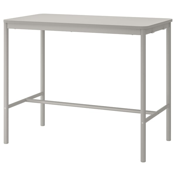 TOMMARYD ทอมมารึด โต๊ะ, เทาอ่อน, 130x70x105 ซม.