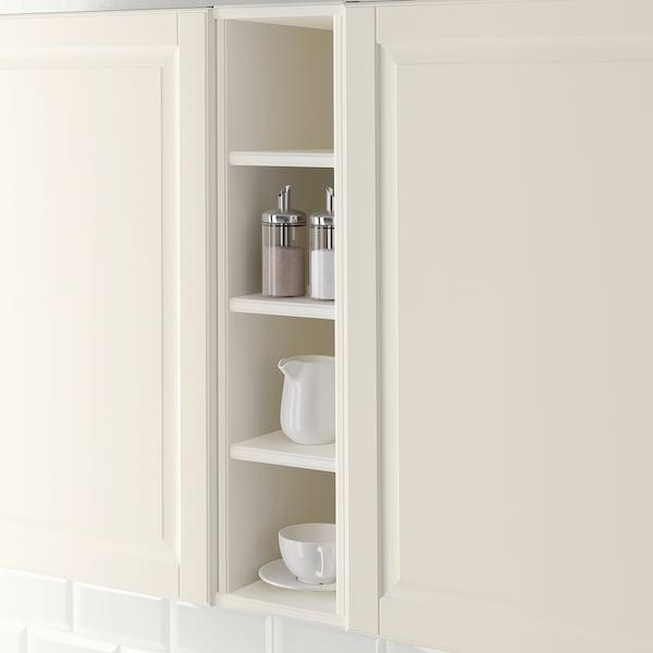 TORNVIKEN ทูร์นวีคเกน ตู้เก็บของไร้บาน, ออฟไวท์, 20x37x80 ซม.