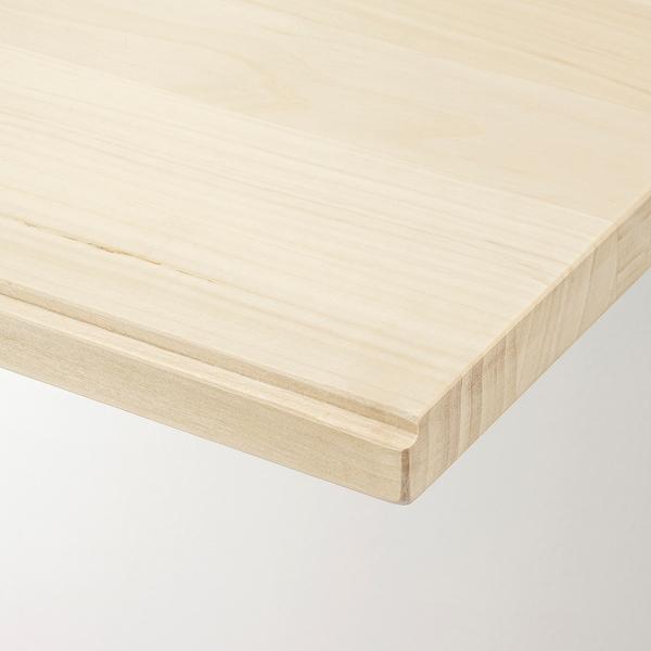 TRANHULT ทรอนฮุลท์ ชั้นวางของ, ไม้แอสเพน, 120x30 ซม.