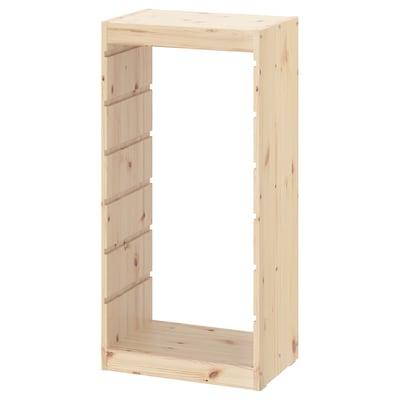 TROFAST ทรูฟัสท์ โครงตู้, ไม้สนย้อมสีขาว, 44x91 ซม.