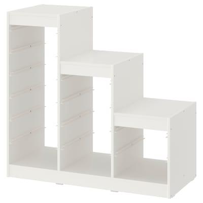 TROFAST ทรูฟัสท์ โครงตู้, ขาว, 99x44x95 ซม.